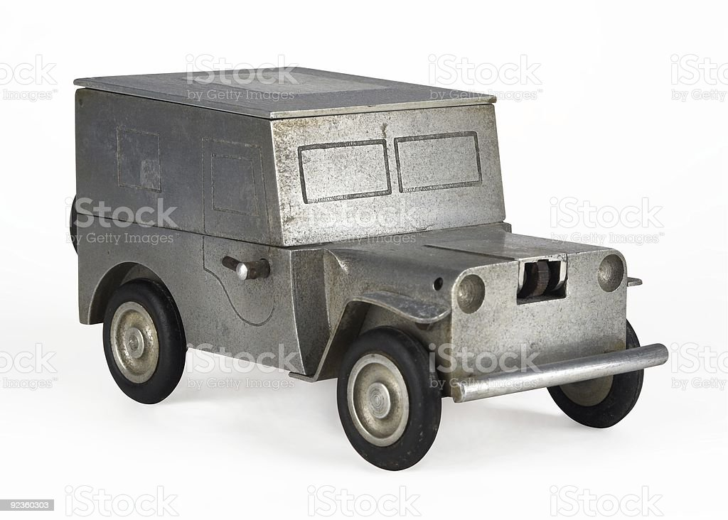 American Four Wheel Drive Vehicle Cigarette Lighter royalty-free stock photo