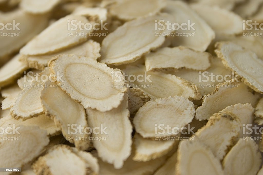 American Ginseng Root royalty-free stock photo