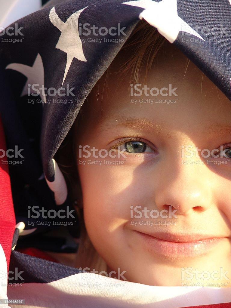 American Girl royalty-free stock photo
