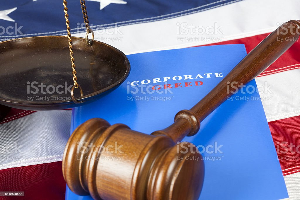 American greed royalty-free stock photo