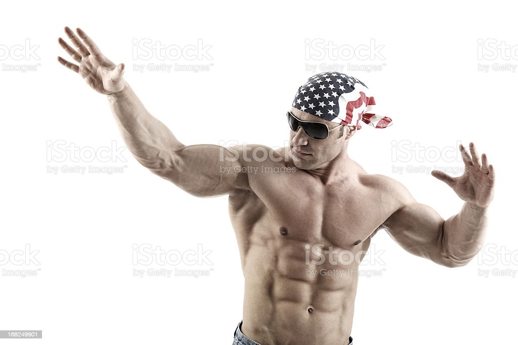 American guy royalty-free stock photo