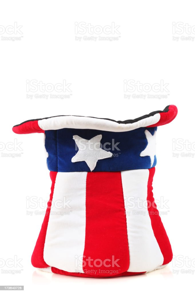 American hat royalty-free stock photo