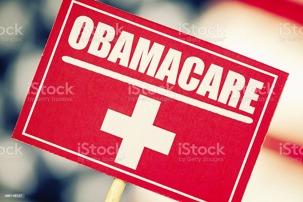 American Healthcare Choices: ObamaCare royalty-free stock photo