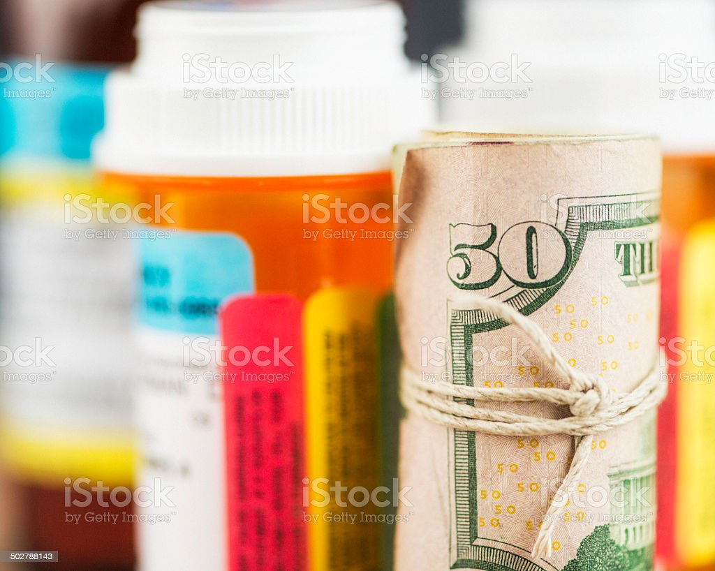 American Healthcare Costs stock photo