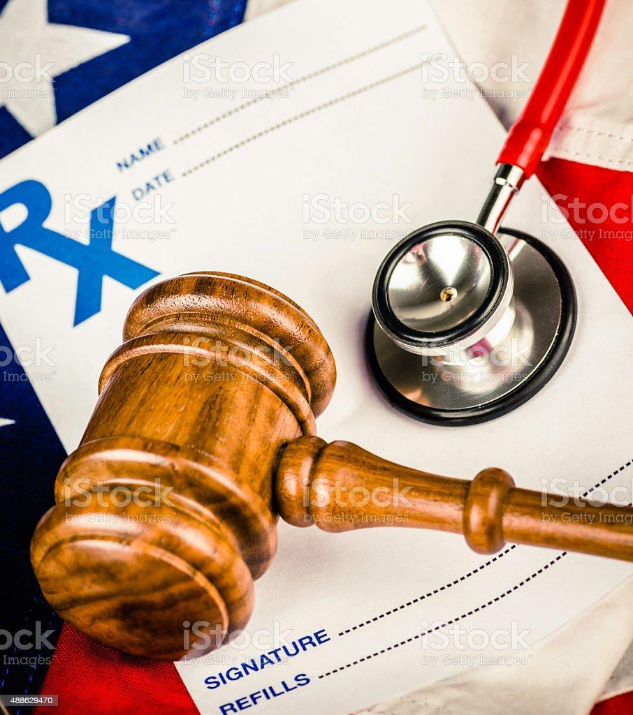 American Healthcare Malpractice stock photo