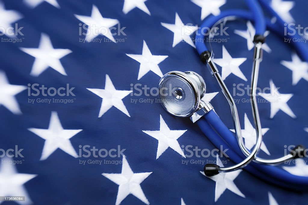 American healthcare royalty-free stock photo