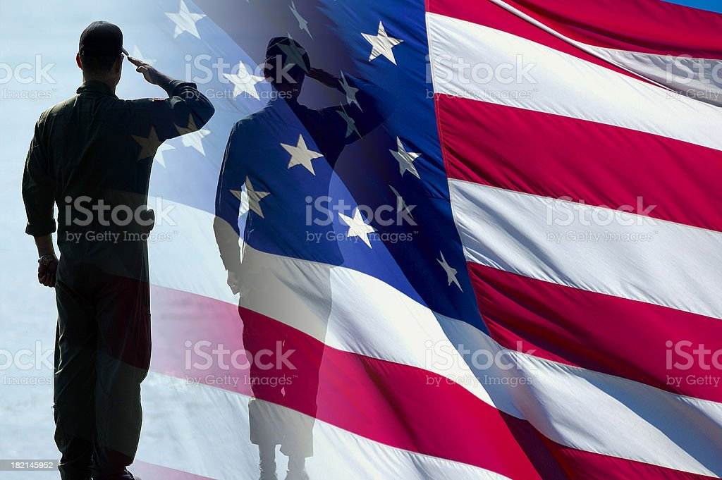 American Heroes II stock photo