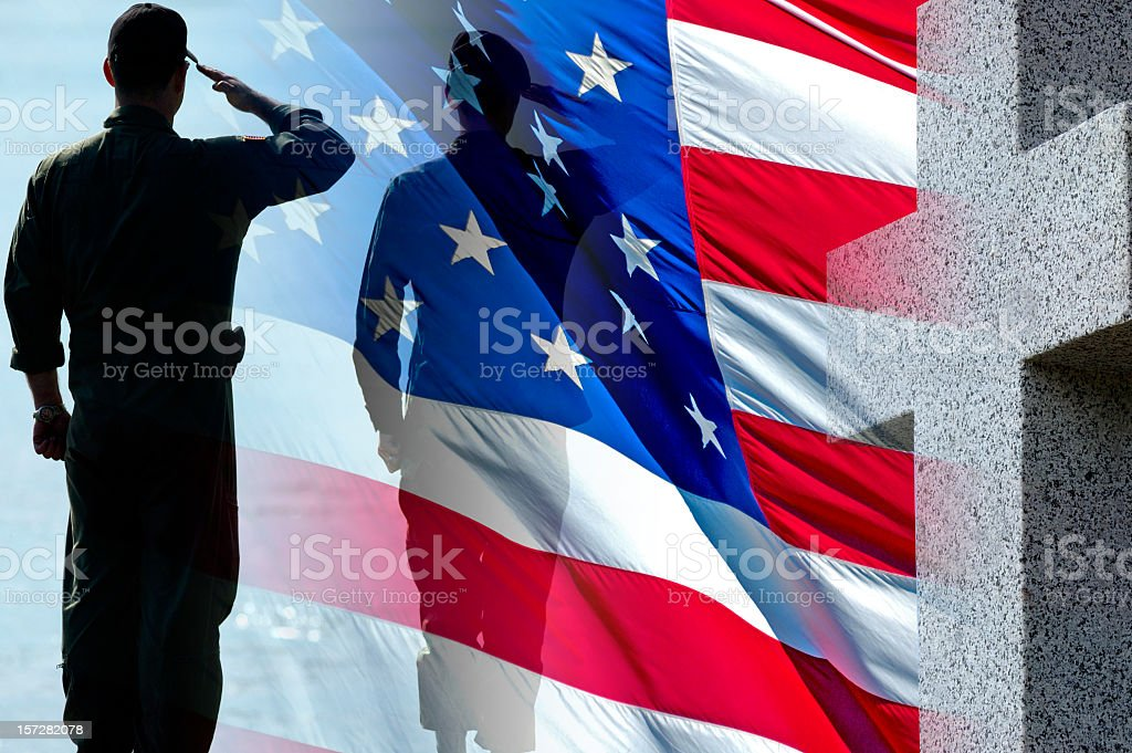 American Heroes stock photo