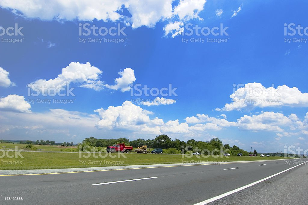 American Highway stock photo