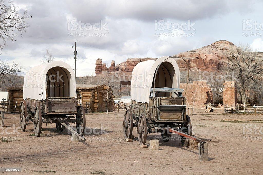 American Historic site stock photo