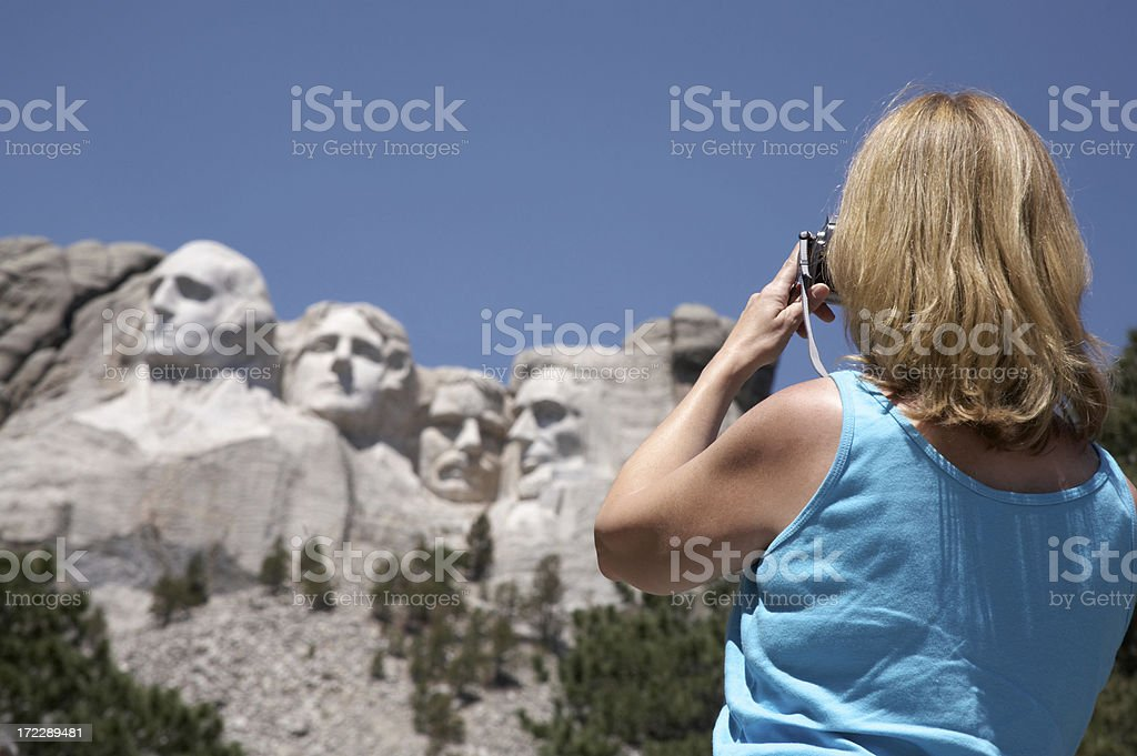 American Holiday royalty-free stock photo