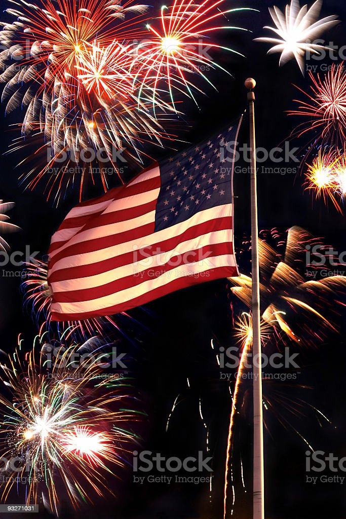 American Holiday stock photo