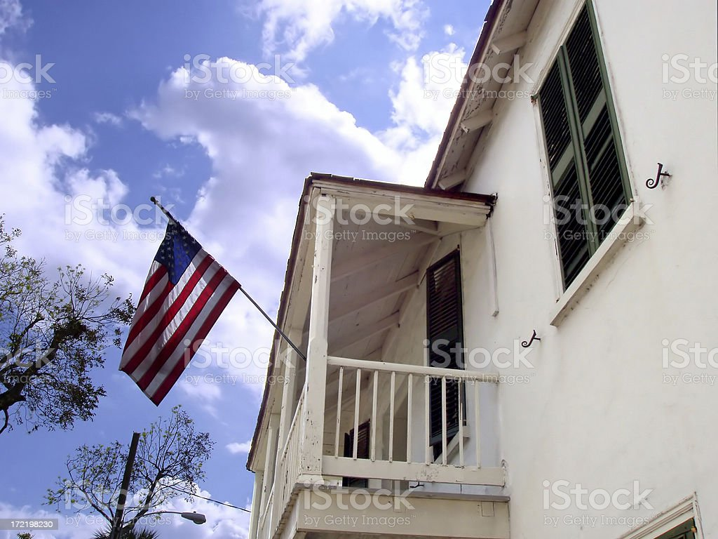 American Home royalty-free stock photo