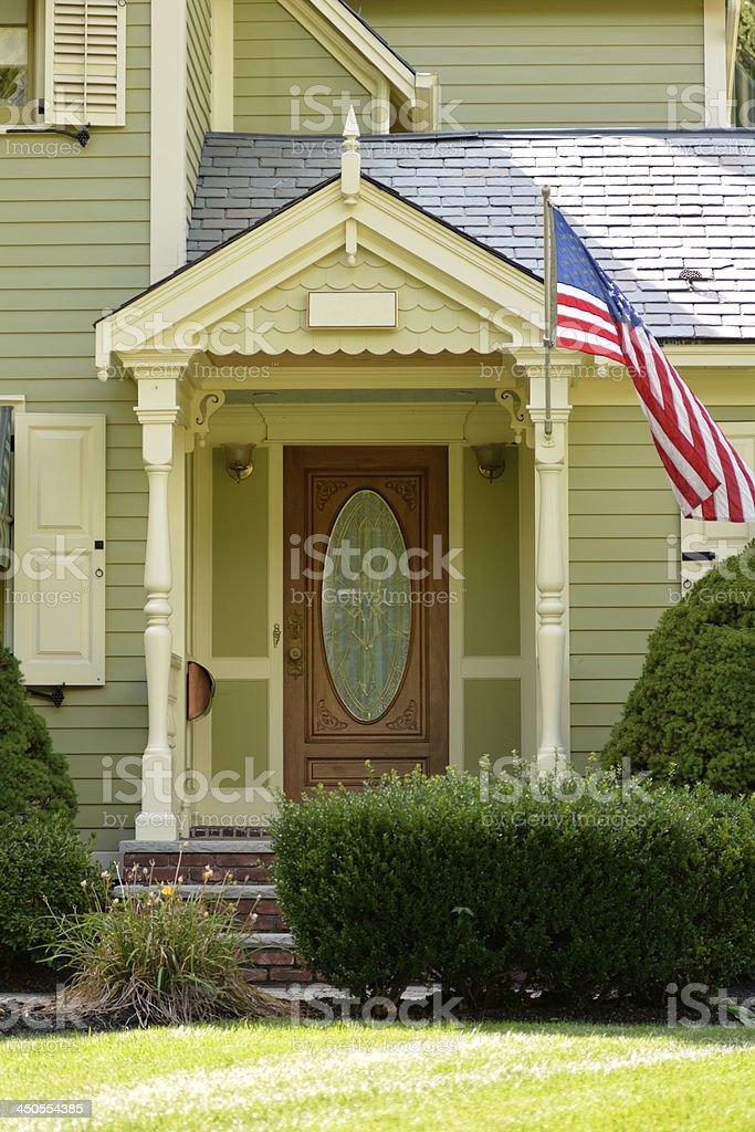 American Home stock photo