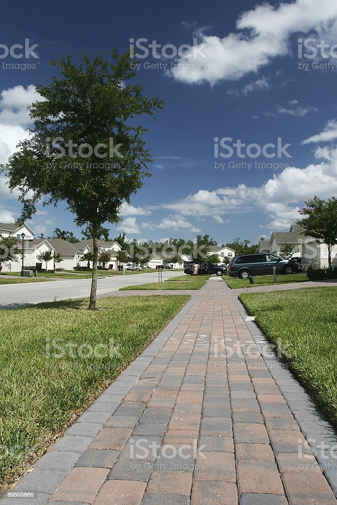 american homes stock photo