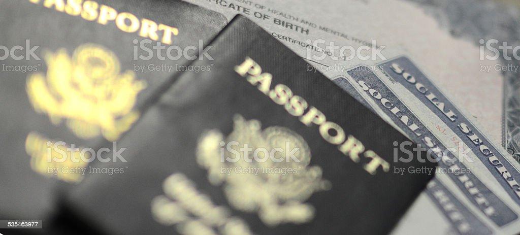 American Identification stock photo
