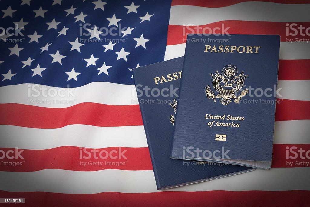 American Identity Symbols stock photo
