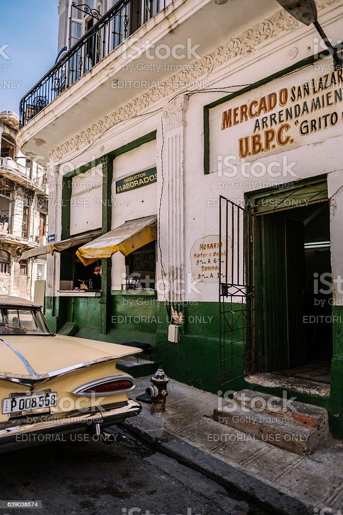 American in Havana stock photo