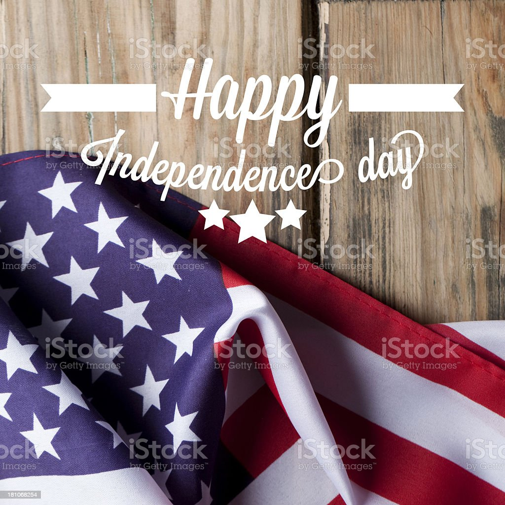 American Independence background royalty-free stock photo