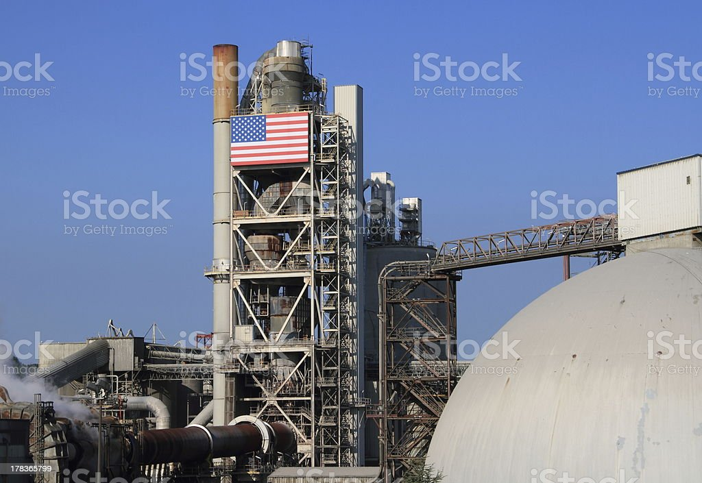 American Industry royalty-free stock photo