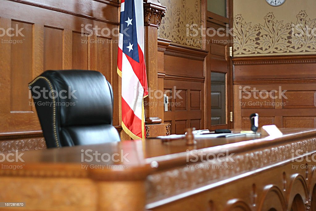 American Justice stock photo