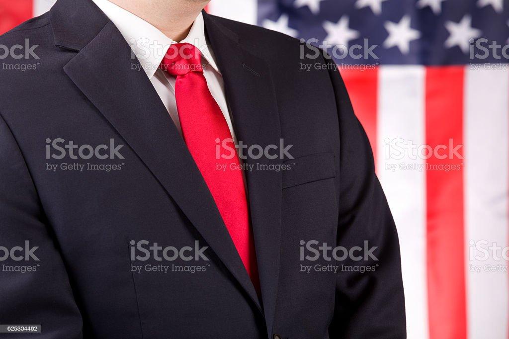 American Leader stock photo