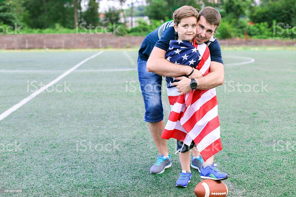 American Lifestyle stock photo