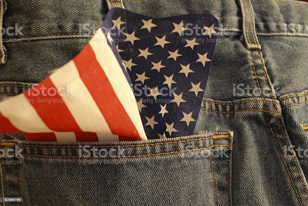 American made royalty-free stock photo