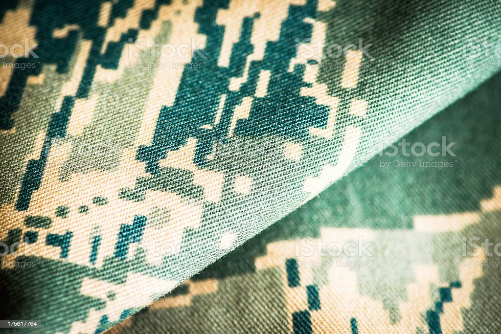 American Military Uniform Background royalty-free stock photo