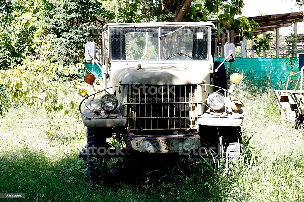 American military vehicle stock photo
