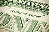 American Money Close Up