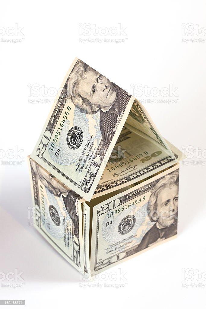 American Money House stock photo