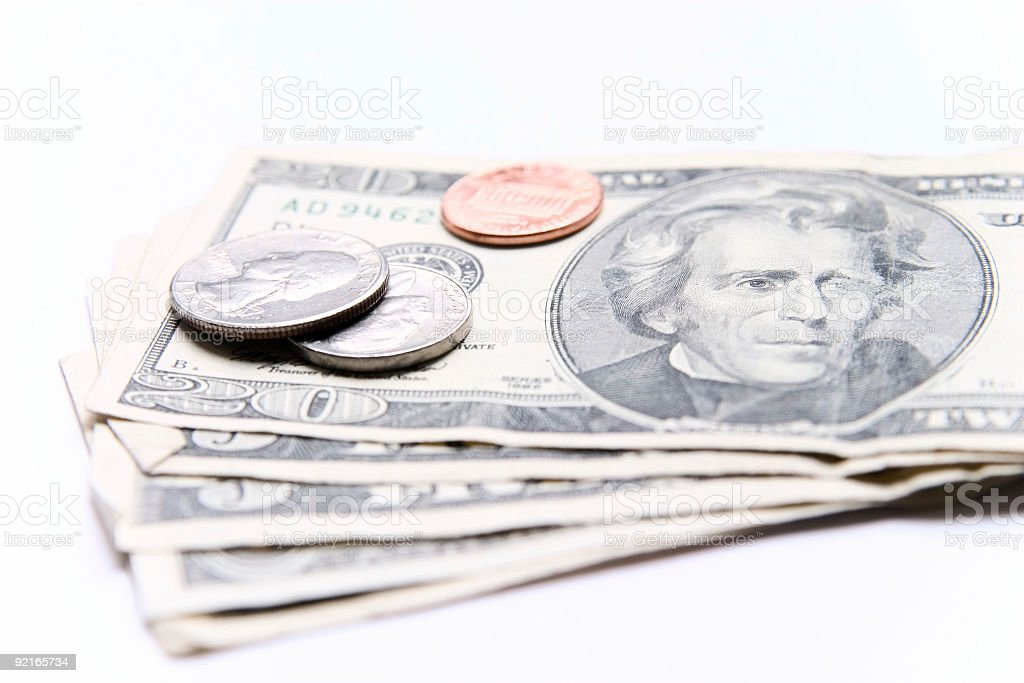 American money royalty-free stock photo