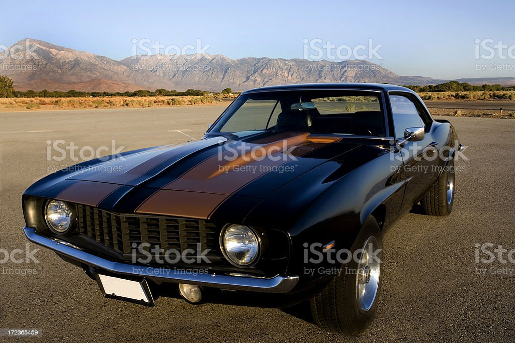American Muscle Car stock photo