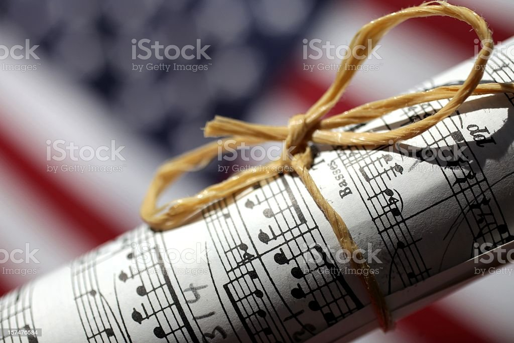 American Music royalty-free stock photo