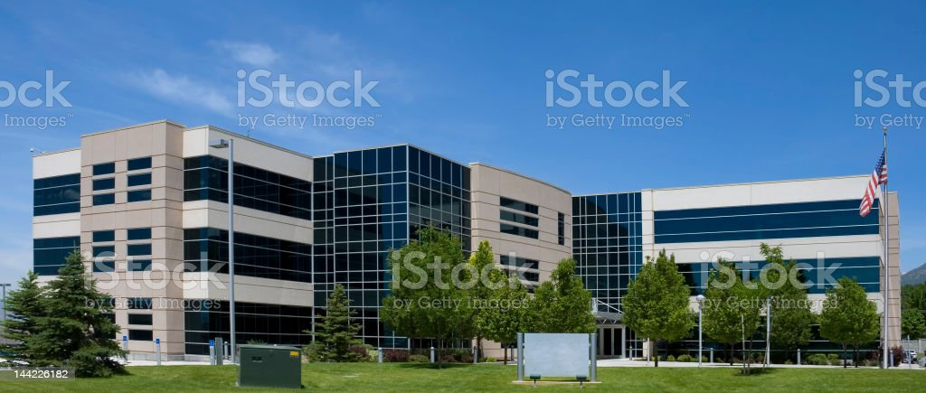 American Office Building stock photo