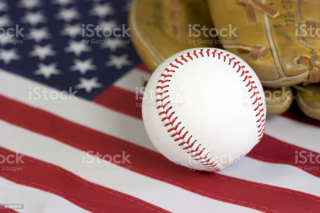 American Pastime royalty-free stock photo