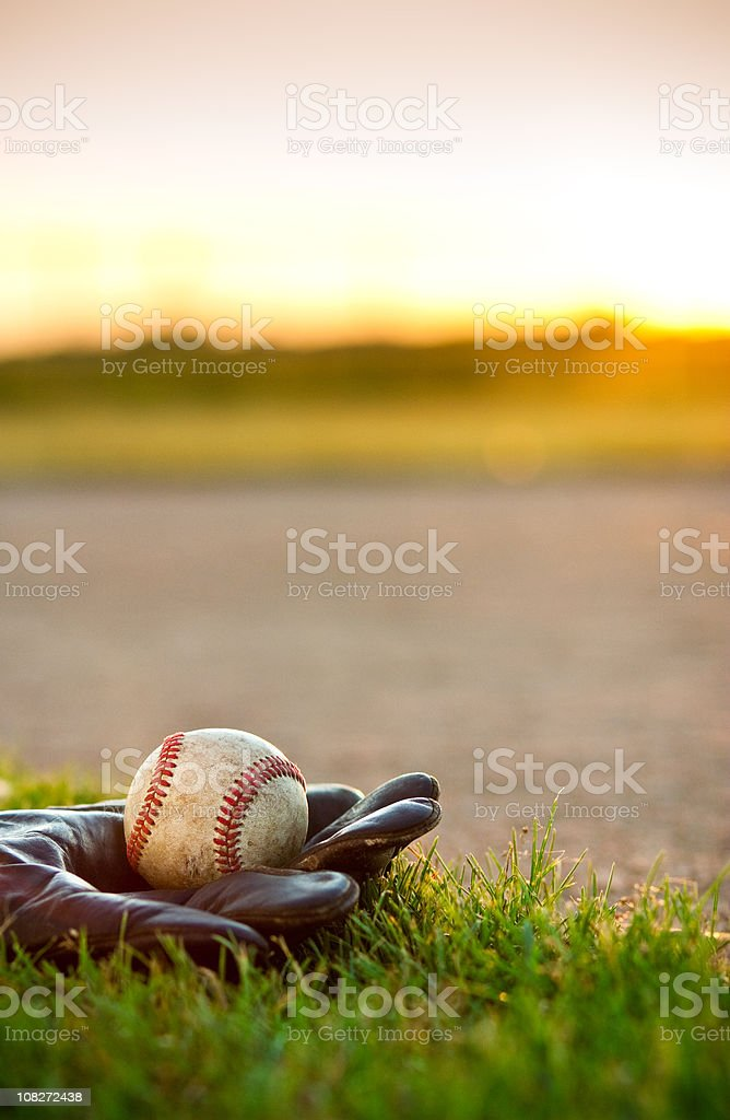 American Pastime—Baseball stock photo