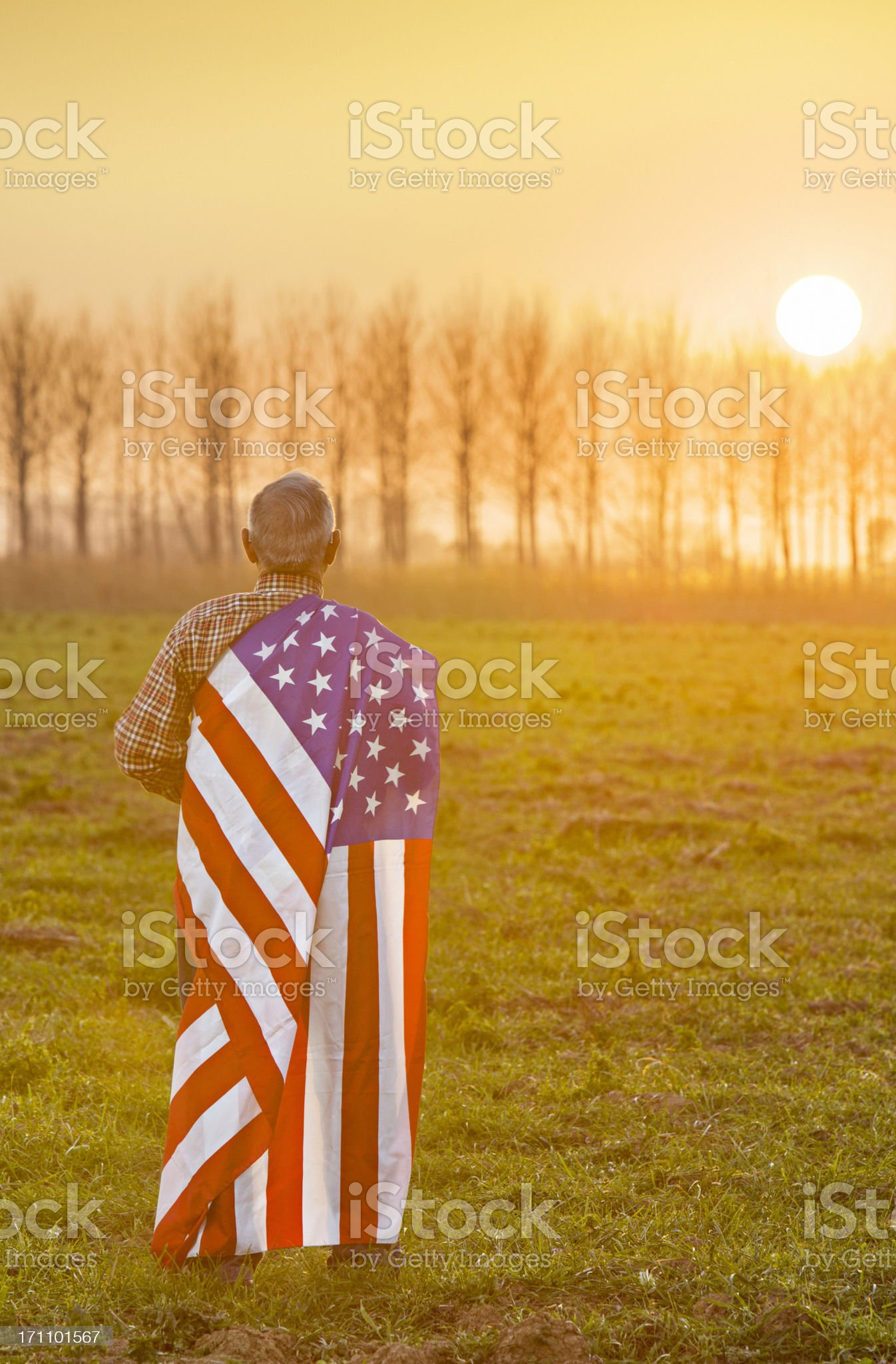 American patriot royalty-free stock photo
