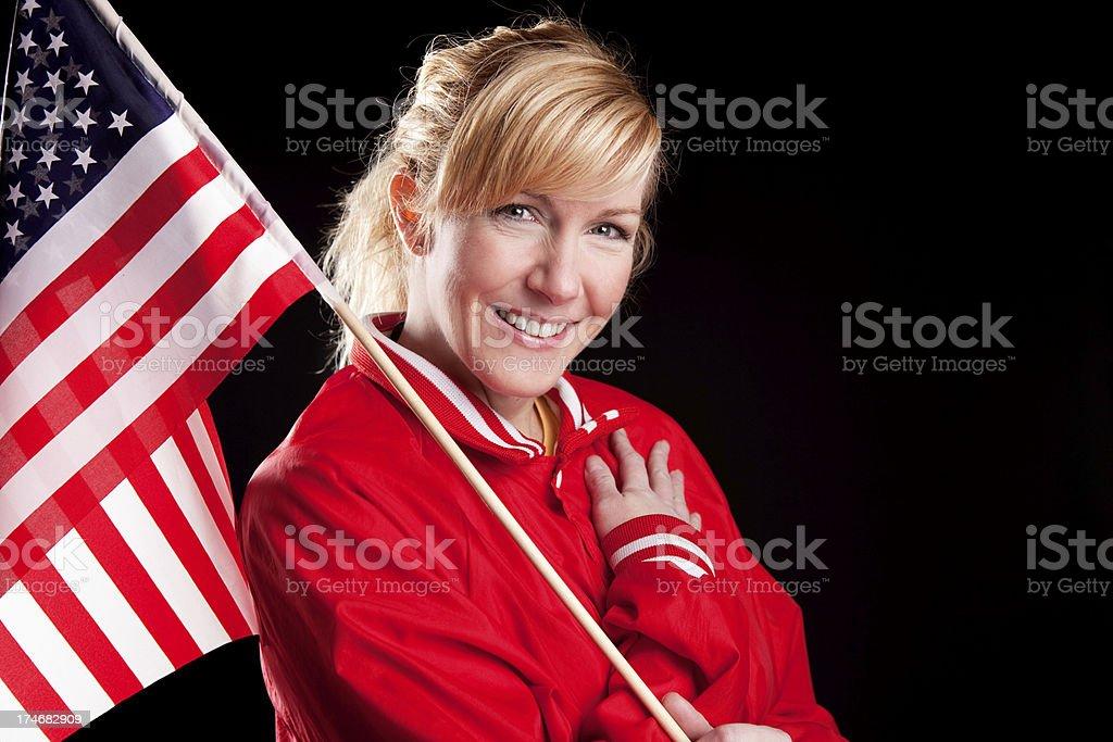 American Patriotism stock photo
