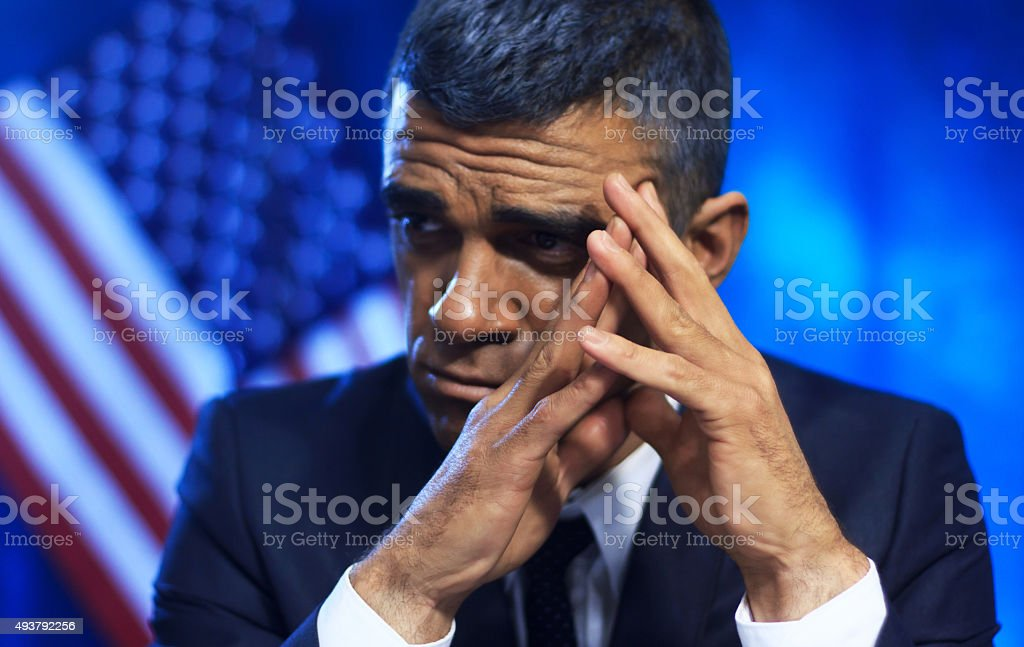 American Politician stock photo