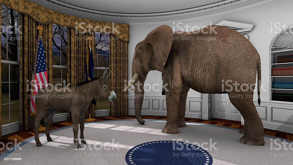 American Politics stock photo