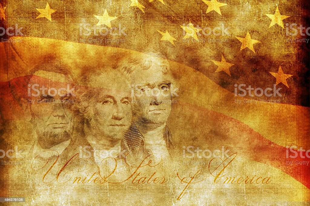 American Presidency Concept stock photo
