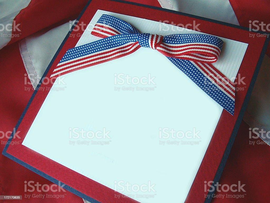 American Pride royalty-free stock photo