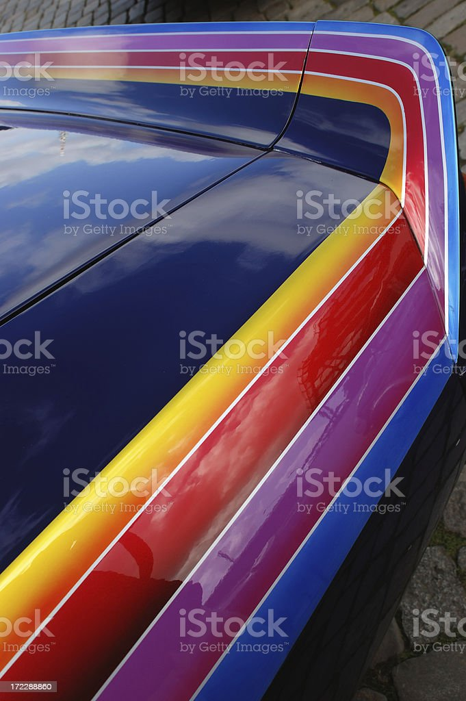 american racer royalty-free stock photo