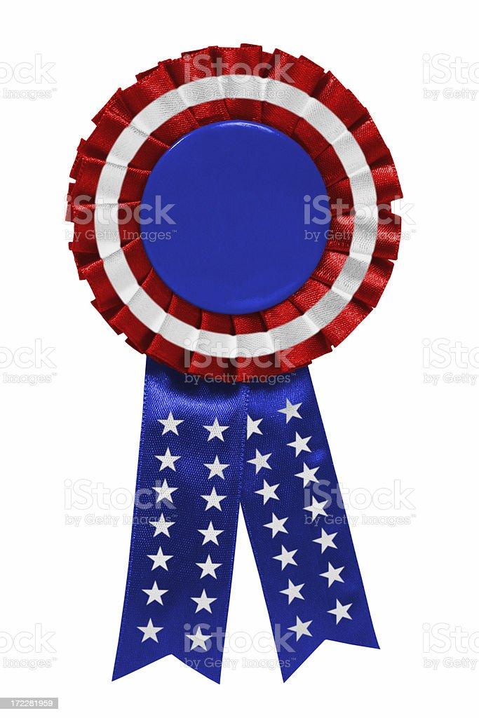 American ribbon stock photo