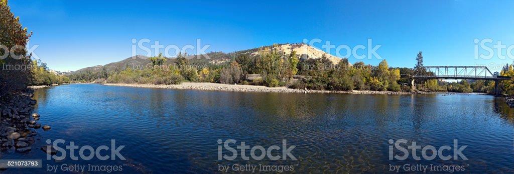 American River Coloma Gold stock photo