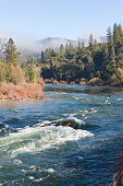 American River with Fog