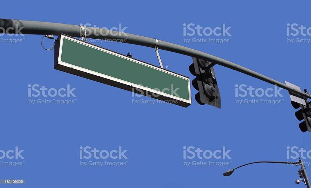 American Road Sign royalty-free stock photo