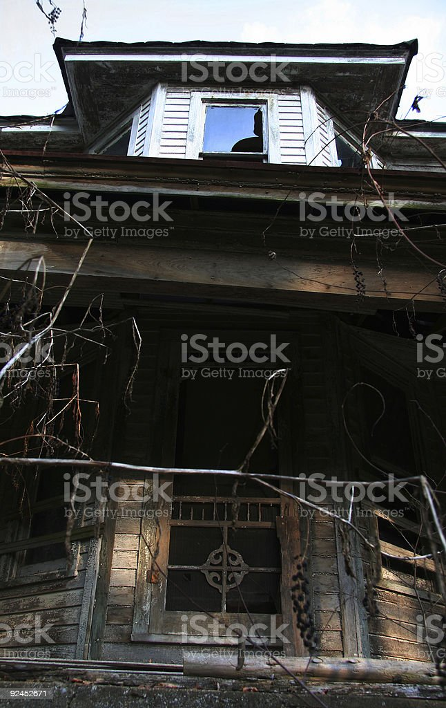 American Ruins 02-B stock photo
